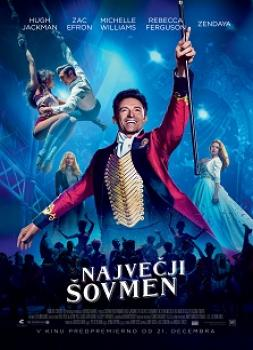 <b>Hugh Jackman</b><br>Največji šovmen (2017)<br><small><i>The Greatest Showman</i></small>