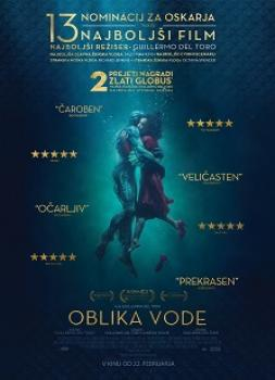<b>Guillermo del Toro, Vanessa Taylor</b><br>Oblika vode (2017)<br><small><i>The Shape of Water</i></small>
