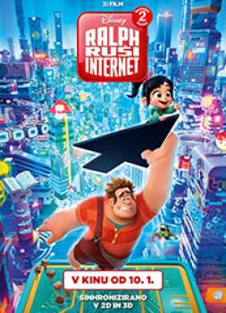 Ralph ruši Internet: Razbijač Ralph 2 (2018)<br><small><i>Ralph Breaks the Internet: Wreck-It Ralph 2</i></small>