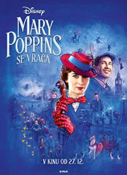 Mary Poppins se vrača (2018)<br><small><i>Mary Poppins Returns</i></small>