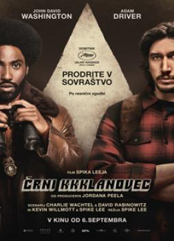 <b>Barry Alexander Brown</b><br>Črni KKKlanovec (2018)<br><small><i>BlacKkKlansman</i></small>