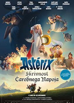 Film - Asterix: Skrivnost čarob..