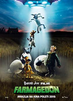 Bacek Jon film: Farmagedon (2019)<br><small><i>Shaun the Sheep Movie: Farmageddon</i></small>