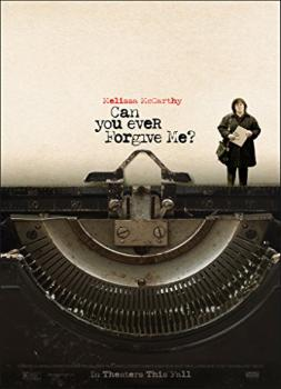 <b>Melissa McCarthy</b><br>Can You Ever Forgive Me? (2018)<br><small><i>Can You Ever Forgive Me?</i></small>