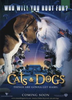 Cats & Dogs (2001)<br><small><i>Cats & Dogs</i></small>