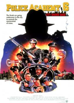 Police Academy 6: City Under Siege (1989)<br><small><i>Police Academy 6: City Under Siege</i></small>