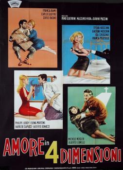 Amore in vier Dimensionen (1964)<br><small><i>Amore in 4 dimensioni</i></small>