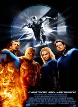 Fantastic Four: Rise of the Silver Surfer (2007)<br><small><i>4: Rise of the Silver Surfer</i></small>