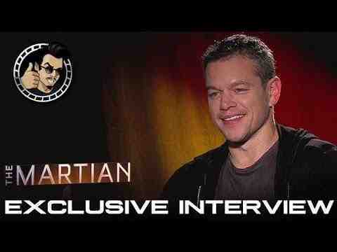 The Martian - Matt Damon Interview