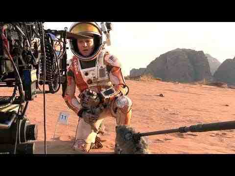 The Martian - On the set