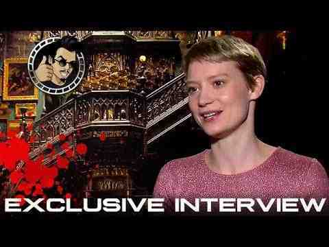 Crimson Peak - Mia Wasikowska Interview