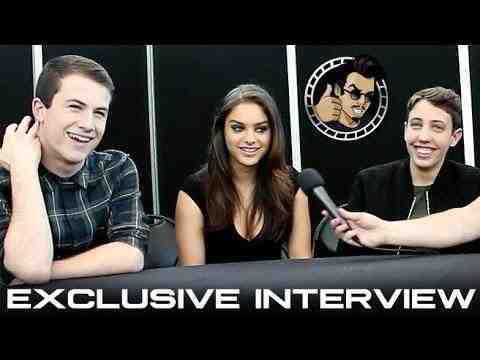 Goosebumps - Dylan Minnette, Odeya Rush, and Ryan Lee Interview