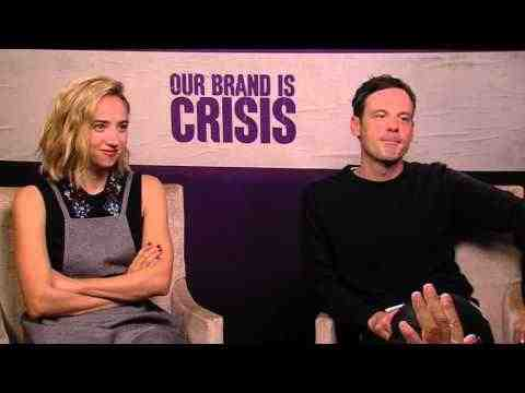 Our Brand Is Crisis - Zoe Kazan & Scoot McNairy Interview