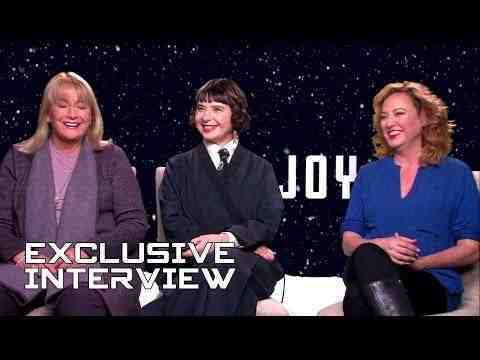Joy - Diane Ladd, Isabella Rossellini & Virginia Madsen Interview