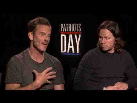 Patriots Day - Mark Wahlberg & Peter Berg Interview