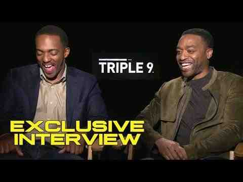 Triple 9 - Anthony Mackie and Chiwetel Ejiofor Interview