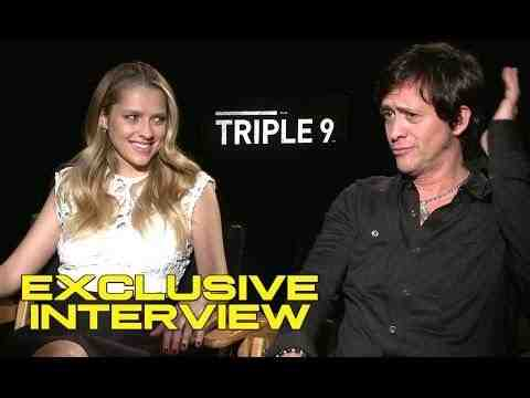 Triple 9 - Teresa Palmer and Clifton Collins Jr. Interview