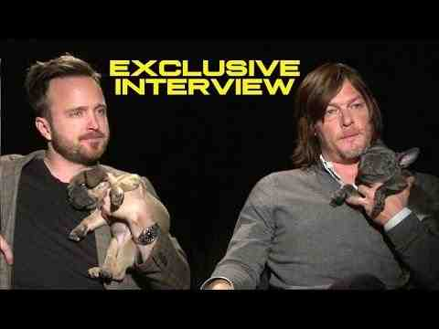 Triple 9 - Aaron Paul and Norman Reedus Interview