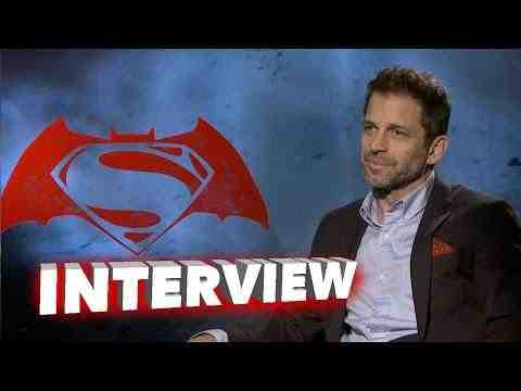 Batman v Superman: Dawn of Justice - Zack Snyder Interview