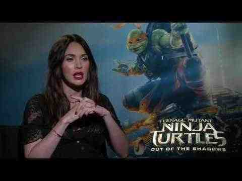 Teenage Mutant Ninja Turtles: Out of the Shadows - Megan Fox Interview