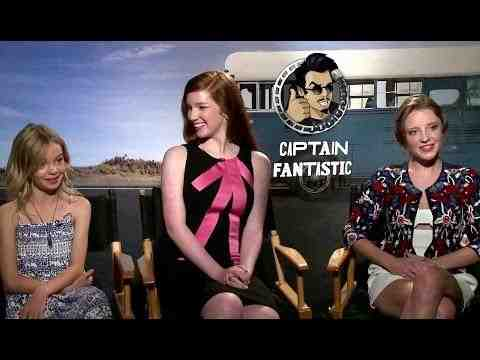 Captain Fantastic - Samantha Isler, Annalise Basso & Shree Crooks Interview