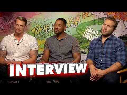 Suicide Squad - Joel Kinnaman, Will Smith, & Jai Courtney Interview