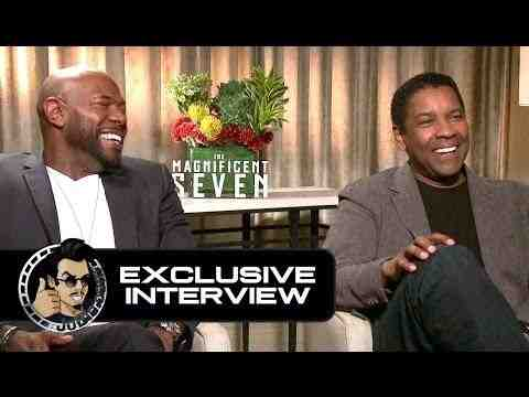 The Magnificent Seven - Denzel Washington & Antoine Fuqua Interview
