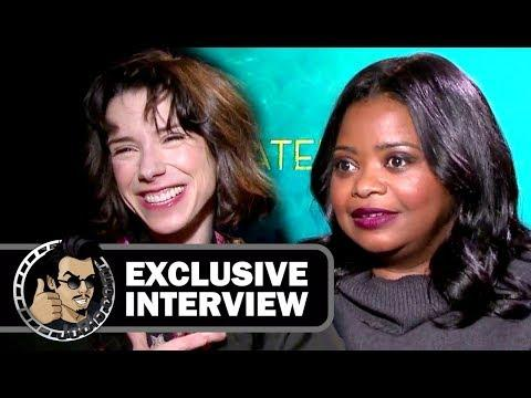 The Shape of Water - Sally Hawkins & Octavia Spencer Interview