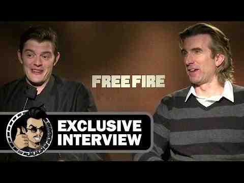 Free Fire - Sam Riley & Sharlto Copley Interview