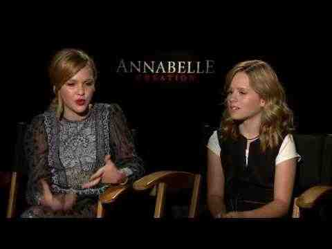 Annabelle: Creation - Talitha Bateman & Lulu Wilson Interview