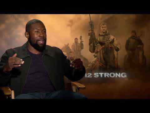 12 Strong - Trevante Rhodes Interview
