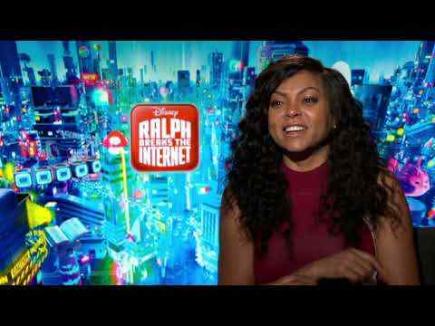 Ralph Breaks the Internet: Wreck-It Ralph 2 - Taraji P. Henson Interview