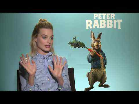 Peter Rabbit - Margot Robbie Interview
