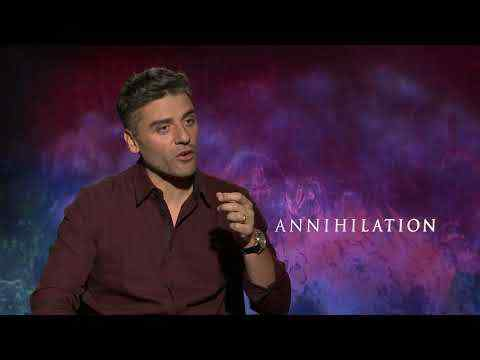 Annihilation - Oscar Isaac Interview