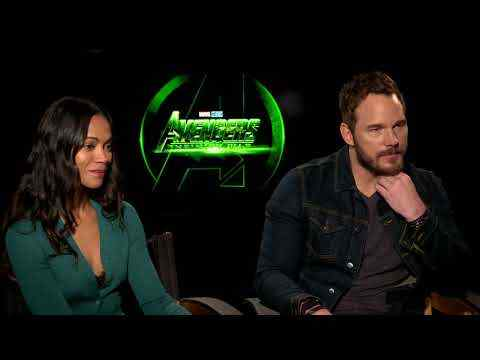 Avengers: Infinity War - Chris Pratt & Zoe Saldana Interview