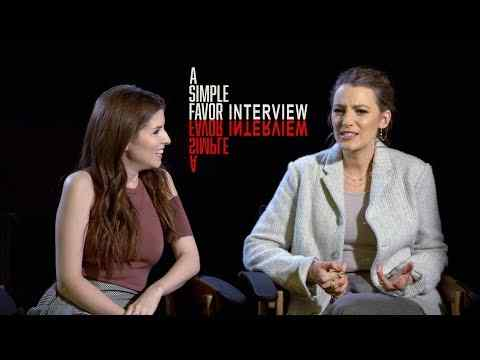 A Simple Favor - Interviews