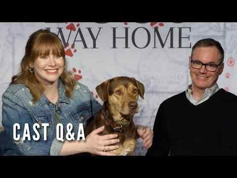 A Dog's Way Home - Cast Q&A