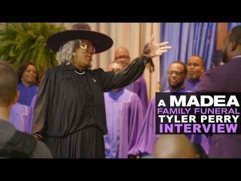 Tyler Perry's a Madea Family Funeral - Tyler Perry Interview