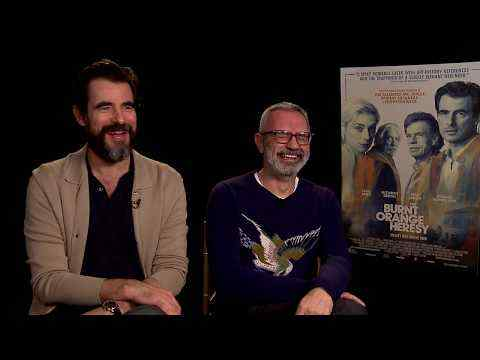 The Burnt Orange Heresy - Claes Bang & Director Giuseppe Capotondi Interview
