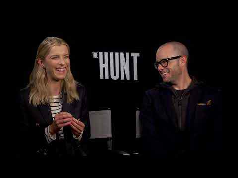 The Hunt - Betty Gilpin & Damon Lindelof Interview