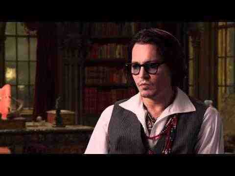 Dark Shadows - Johnny Depp On Set Interview