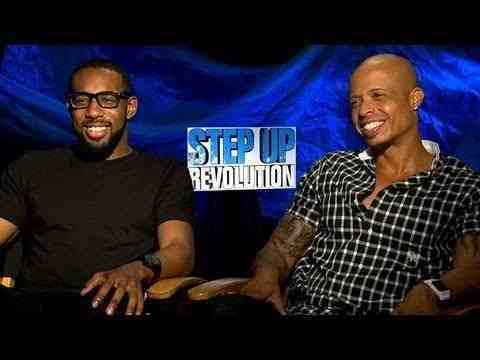 Step Up 4 3D - Stephen 'tWitch' Boss and Jamal Sims Interview