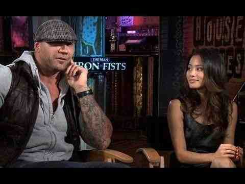 The Man with the Iron Fists - Jamie Chung and Dave Bautista Interview