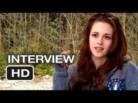 The Twilight Saga: Breaking Dawn - Part 2 - Kristen Stewart  Interview