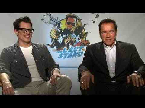 The Last Stand - Arnold Schwarzenegger and Johnny Knoxville Interview