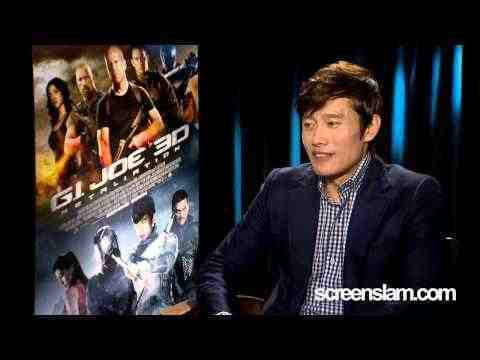 G.I. Joe: Retaliation - Byung-Hun Lee interview