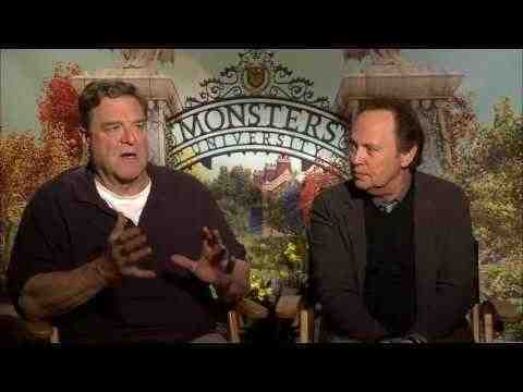Monsters University - John Goodman & Billy Crystal Interview