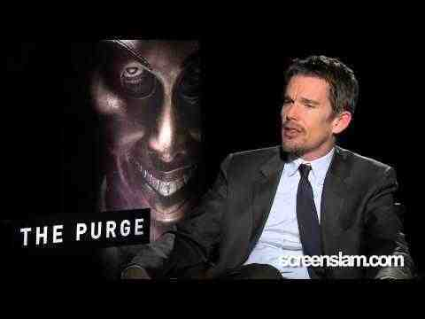 The Purge - Ethan Hawke Interview