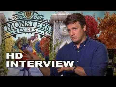 Monsters University - Nathan Fillion Interview Part 2