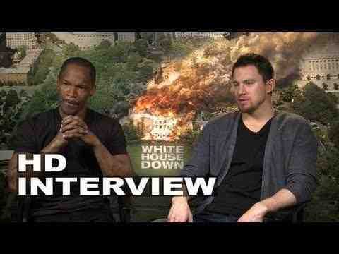White House Down - Channing Tatum & Jamie Foxx Junket Interview
